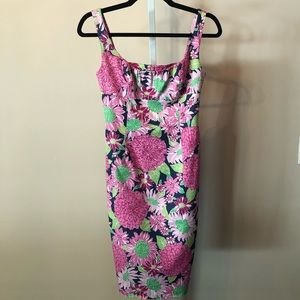 Lilly Pulitzer floral shift dress (0) BTG